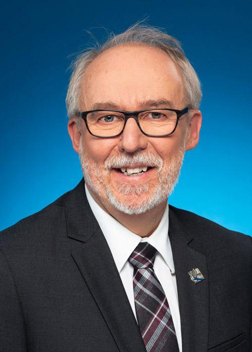 Marc Picard - député des Chutes de la Chaudière - Président de l'assemblée nationale