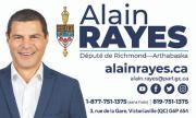 Carte d'affaire député Alain Rayes