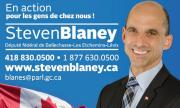 Carte d'affaire député Steven Blaney