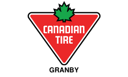 Logo magasin Canadian Tire Granby