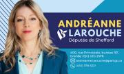 Carte d'affaire - Andréanne Larouche