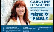 Carte d'affaire - Caroline Desbiens