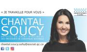 Carte d'affaire - Chantal Soucy