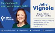 Carte d'affaire - Julie Vignola