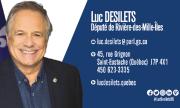 Carte d'affaire - Luc Desilets